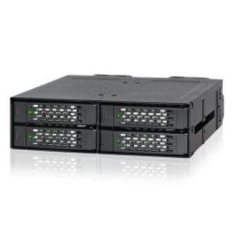 """Rack Amovible 5,25"""" pour 4 x NVMe U.2 SSD"""