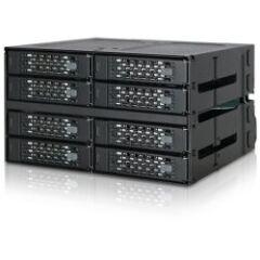 Backplane 8 baies SSD/HDD 2,5Ë Sata/SAS 2x 5.25Ë