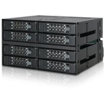 Backplane 8 baies SSD/HDD 2,5Ë Sata/SAS 2x 5.25Ë