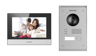 DS-KIS703-P KIT PORTIER IP VIDEO 2 FILS 2MP AVEC TABLETTE 7'