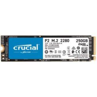 SSD Crucial P2 250Go NVMe 3.0 x4   M.2 2280