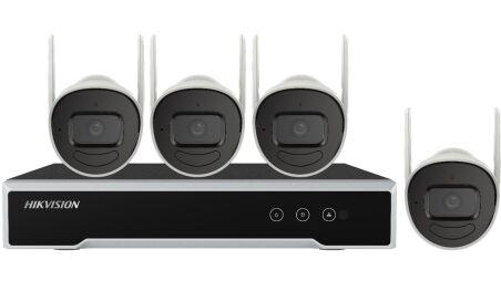 NK42W0H-1T(WD)(D)(O-STD)/EU KIT IP WIFI 4 CAMERA BULLET 2MP + 1 NVR + 1HDD 1TB
