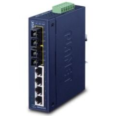 SWITCH INDUS IP30 4 10/100MB + 2 FO SC -10/+60°C