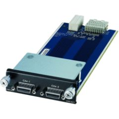 Module 2 emplacements CX4 pour Switch XGS-45xx