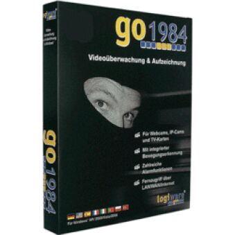 LOGICIEL VIDEO SURVEILLANCE GO1984 ENTREPRISE