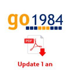 Abonnement update 1 an pour Go1984 Professionnal