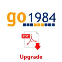 Upgrade Go1984 ENTREPRISE vers ULTIMATE