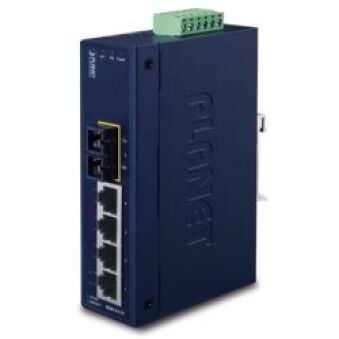 SWITCH INDUS IP30 4 PORTS 10/100Mb 1FO SC -40/+75°