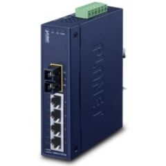 Switch indus IP30 4x 100Mbits 1 SC 15KM -40/+75°
