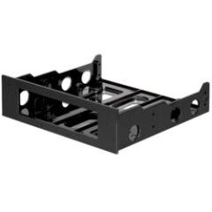 Kit de montage FDD 5' 1/4 vers 3'1/2 noir
