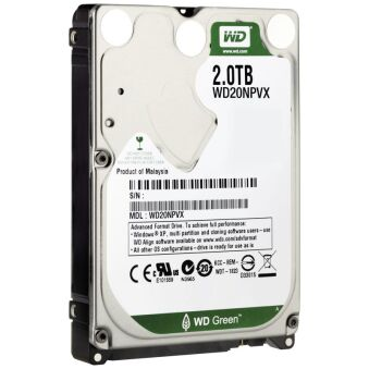 "Disque dur 2""1/2 Sata 2 To  16Mo WD Green 5400tr"