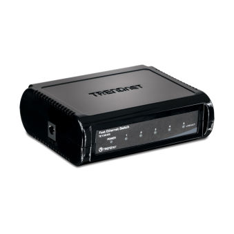 Switch 5 ports Ethernet - TE100-S5 - Noir