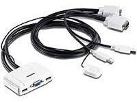 TRENDnet TK-217i - Câbles KVM 2 ports USB - VGA