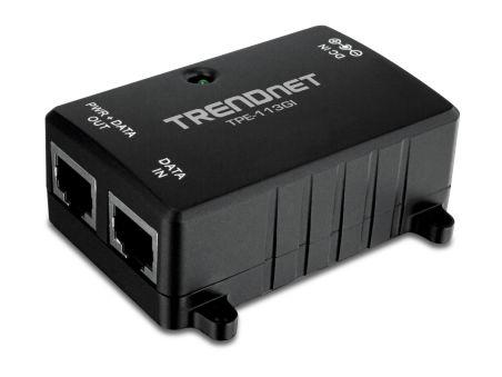 Injecteur PoE Gigabit - TPE-113GI - Noir