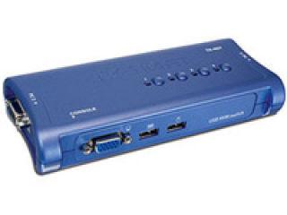 TRENDnet TK-407K - KVM 4 ports VGA - USB + 4 cables inclus
