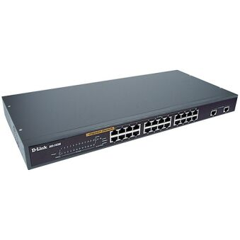 SWITCH 19' 24 PORTS 10/200MBits + 2 ports Giga