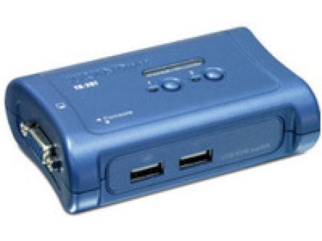 TRENDnet TK-207K - KVM 2 ports VGA - USB + 2 cables inclus
