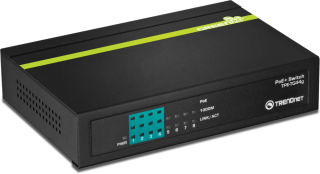 Switch 8 ports PoE+ Ethernet - TPE-TG44G - Noir