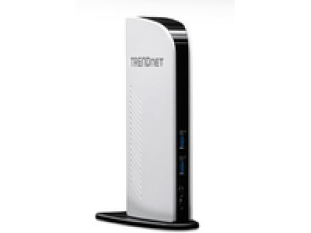 TRENDnet TU3-DS2 - Docking Station USB 3.0/Gigabit/HDMI/DVI
