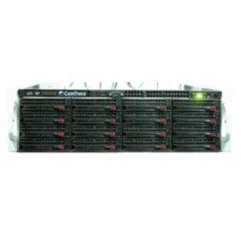 CamTrace serv. 3U ss DD/lic max 72To en 2 RAID 5.