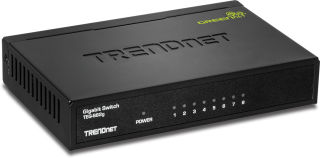TEG-S82G - Noir Switch 8 ports Gigabit