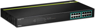 TPE-TG160G - Noir Switch 16 ports PoE+ Gigabit