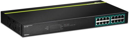 TPE-TG160G - Noir Switch 16 ports PoE+ Gigabit