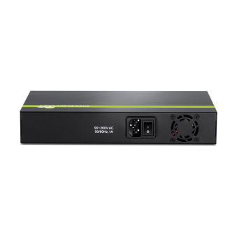 Switch 8 ports PoE+ Ethernet - TPE-T80H - Noir