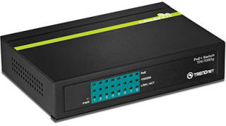TPE-TG80G - Noir Switch 8 ports PoE+ Gigabit