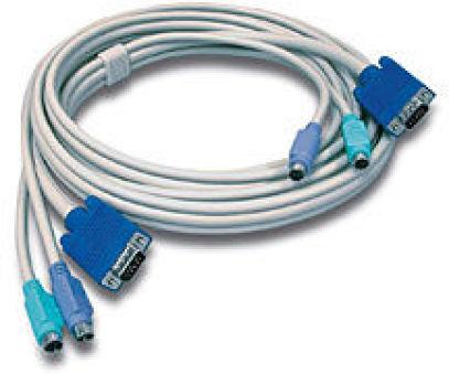 TRENDNET TK-C10 - Cable pour KVM PS/2 3m male/male