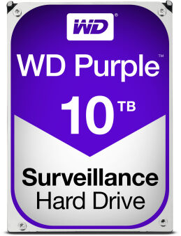 "Disque dur 3""1/2 Sata III 10To 64Mo Purple NVR"
